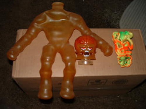 "Stretch Armstrong ~ Mini Stretch X-Ray ~ 7/"" Stretchable Figure"